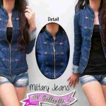 V.236 Blazer Military Button Jeans