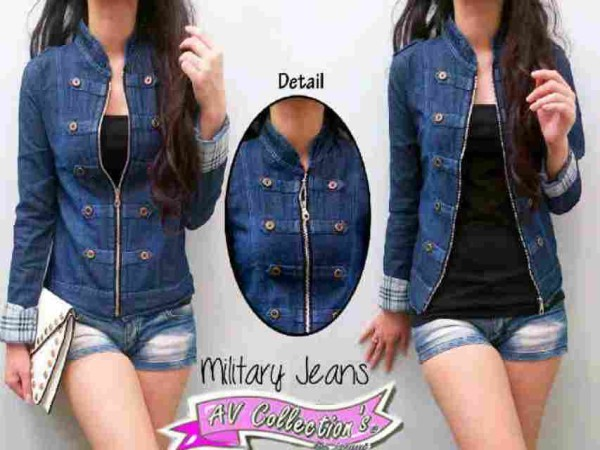 V.236 Blazer Military Button Jeans