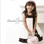A-282 Sabrina Kid Sleeveless Polka