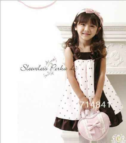 A-282 Sabrina Kid Sleeveless Polka