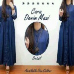 G-425 cora denim super maxi BIG FASHION