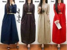 Jordyn Maxi Gold Button R269