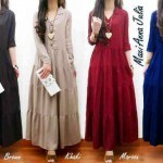 R-274 Anna Julia Maxi By BIG Fashion