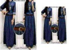Baju Maxi Dress Denim R.262