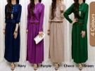 Maxi Dress Remaja Rumbai R260