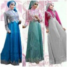 Gamis Pesta Satin New Princess S600