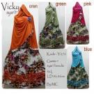 Gamis Syari Vicky Hoodie Y272