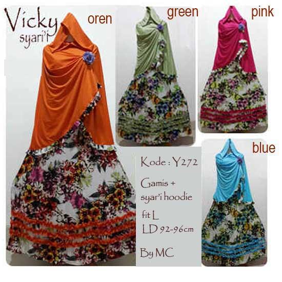 Y.272 Vicky Syarii Hoodie By MC OK