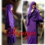 Y230 Soraya Syari Rumbai ungu