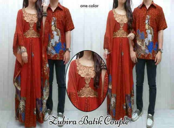 cp574 zubira warna BATA batik couple