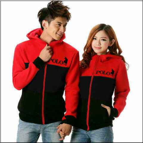 jaket Couple Hoodie POLO babyterry
