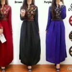 20_Pbg.866.New jaret maxi + obi @ 83 bhn.katun rayon super kombi songket . Fit L. Po 2-3 mgg. Ori BIG FASHION