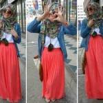 g.673 hijab alyssa spandek rayon + katun denim SV Collection