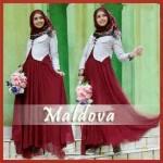 G.755 MALDOVA hijab @130rb (maxi buntung bhn jersey maroon+blazer bhn babytery+pasminah bunga bhn ceruti). fit L. LD 92cm PJ 135cm. Maxi karet lingkar. Blazer kancing depan ± 600 gram