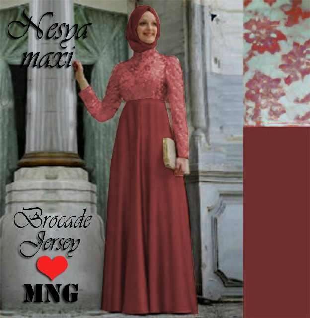 Model Baju Gamis Islami