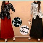 G771 Maxi PARIS (rok+blouse)