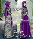 Gamis Pesta Khalisa P617 Batik