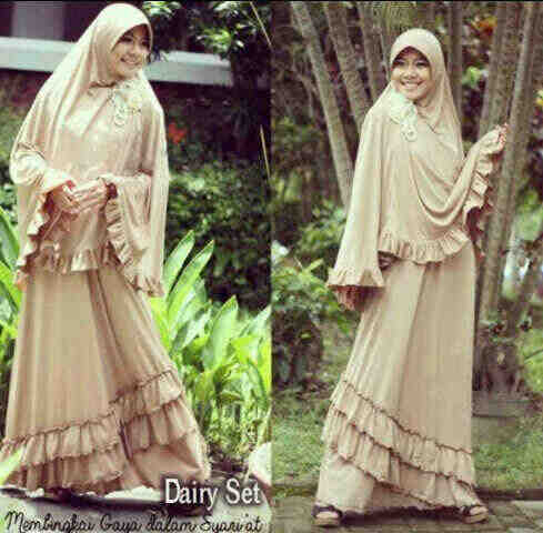 Y768 Dairy Bergo Mocca. Ori POP UP