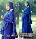 Gamis Cantik Yunia Rainbow Y1065