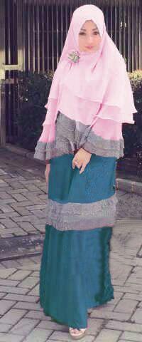 Y804 Gamis Beatrice Syari Busui TOSCA