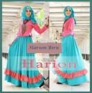 Gamis Modern Harion Blue P797