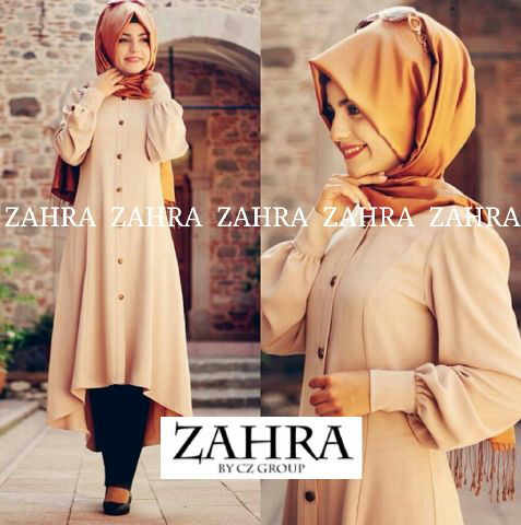 Baju Gamis Modern Zahra Hijab G835 Model Busana Muslim