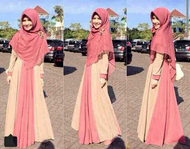 Gamis Soleha Busui Y827 M Model Baju Muslim Syari Cantik Butik