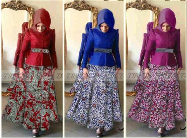 Gaun Batik Modern Mira P873 Busui Jual Gamis Batik Online