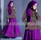Gaun Batik Modern Putri P887
