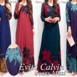 P900 Gaun Long dress EVITA CALVIN JEANS