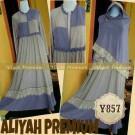 Gamis Syari Aliyah Premium Y857 (XL)