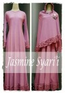 Gamis Set Bergo Simpel Jasmine Y890