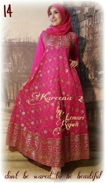 Baju gamis pesta payet kareena rajwa p862 sari india cantik Baju gamis india terbaru