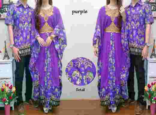 CP931 Batik Couple Violeta