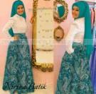 Batik Pesta Brokat Nirina2 (P897a)