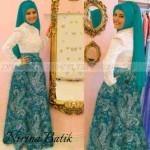 P897A Batik Modern Nirina tosca