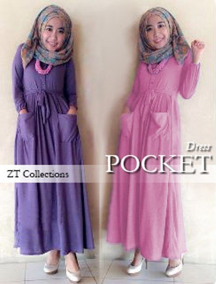 V935 Pocket Dress Maxi