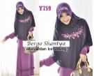 Gamis Syari Shantya Bergo (XL) Y759