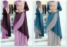 Gamis Layer Riska Hijab Y907