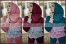 Gamis Pesta Afifah Brokat P1017