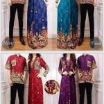 cp1039 gamis batik couple VENUS bhn katun rayon