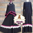 Gamis Marsha Black Jumbo Y1030