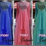 P1087 gaun pesta cassandra long dress