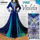 Gaun Pesta Violeta Sifon P1067