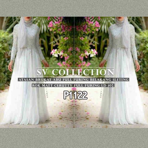 P1122 Gamis Pesta Cellini Dress