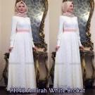 Gamis Pesta Amirah Brokat Y1140