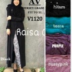 V1120 Raisa Long Blazer