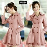 V1134 Blazer Fashion Peach
