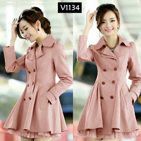 V1134 Blazer Fashion Peach