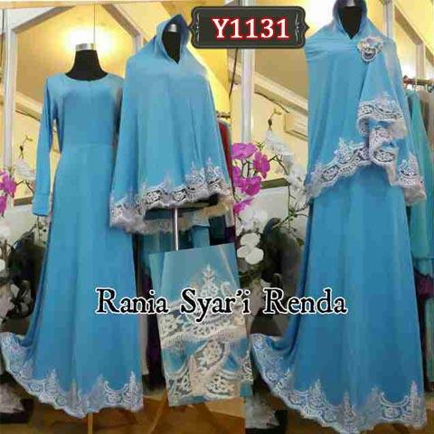 Y1131 Rania Syari Renda Bergo